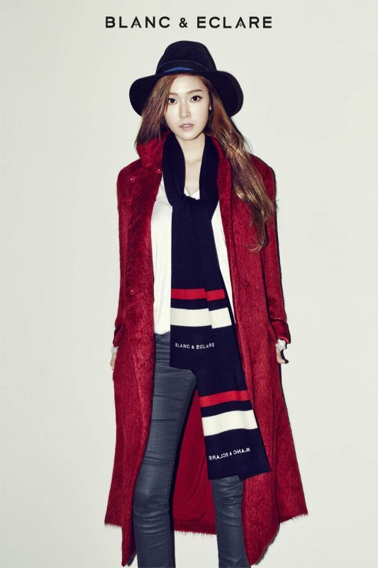 Jessica Jung for Blanc & Eclare Winter 2014 Ad 2