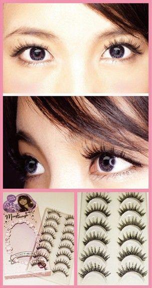 Korean fake eyelashes