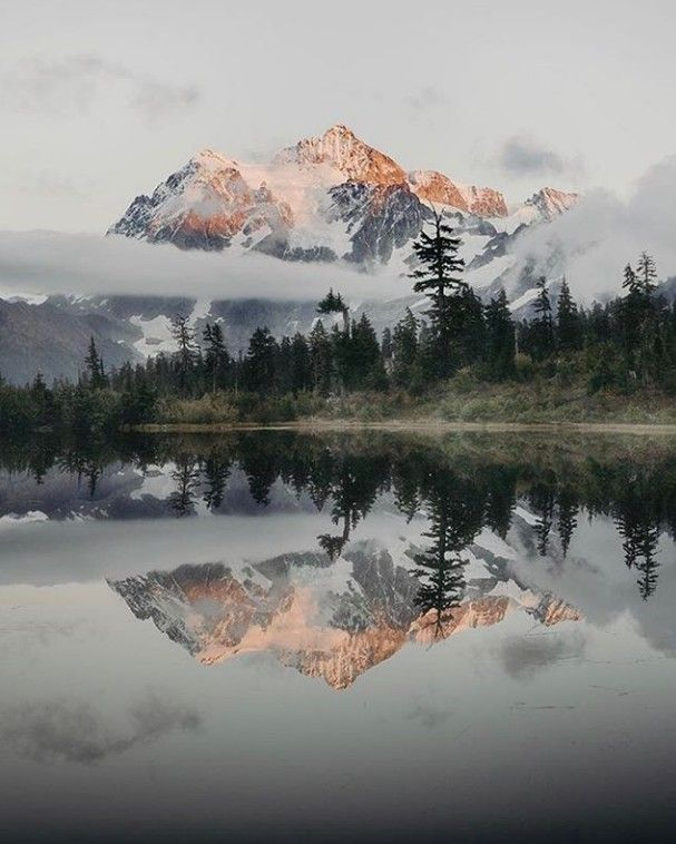 Mount Shuksan Beautiful Landscape Photography Nature Photography Landscape Photography
