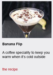 Banana Flip - Συνταγές καφέ