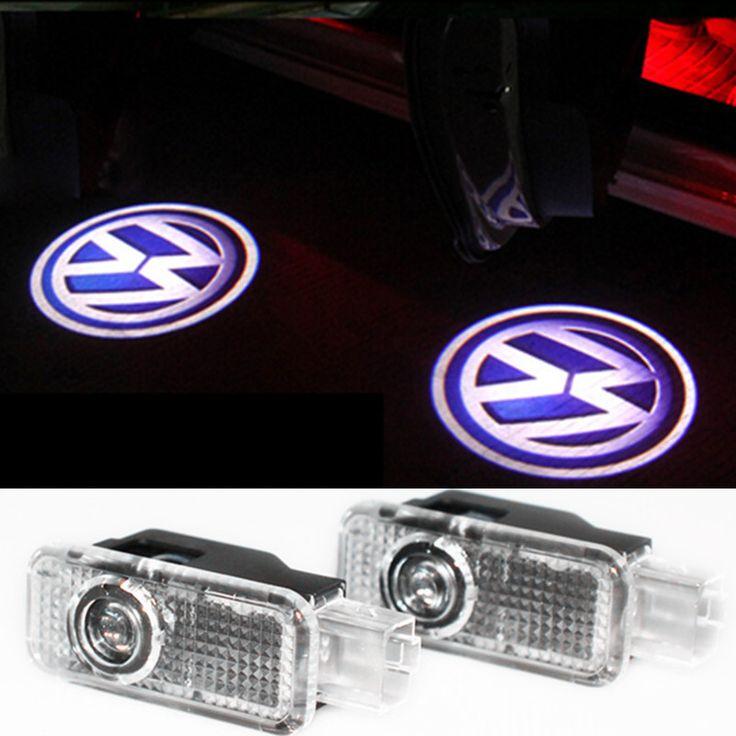 Led auto deur welkom licht laser autodeur shadow led projector voor volkswagen vw passat b5 b5.5 phaeton (2 Stuks/partij)