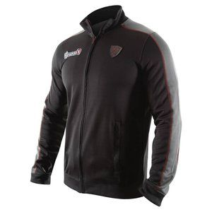 Hayabusa Track Jacket Trainings Jas Zwart Grijs Vechtsport Nederland. De Hayabusa Trainings jas is erg mooi afgewerkt met de mooiste en beste stoffen beschikbaar.