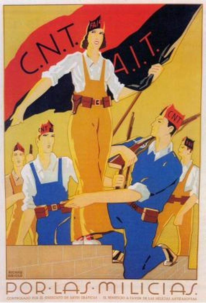 Spanish Civil War 1936-1939, CNT