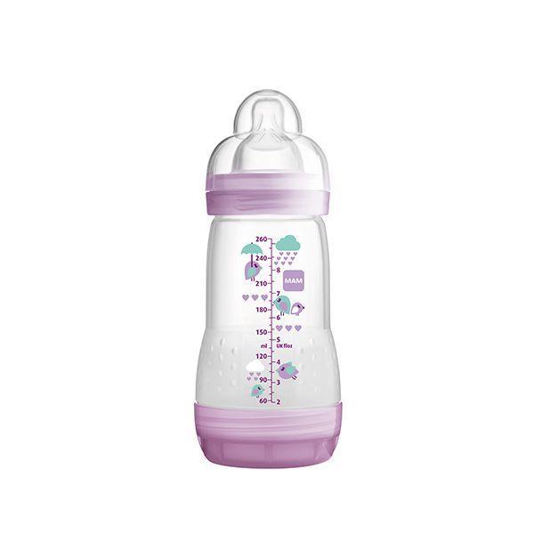 Mamadera anticólicos modelo niña. 260 ml  http://www.babytuto.com/productos/lactancia-mamaderas-mamaderas-de-plastico,mamadera-anticolicos-modelo-nina-260-ml,15660