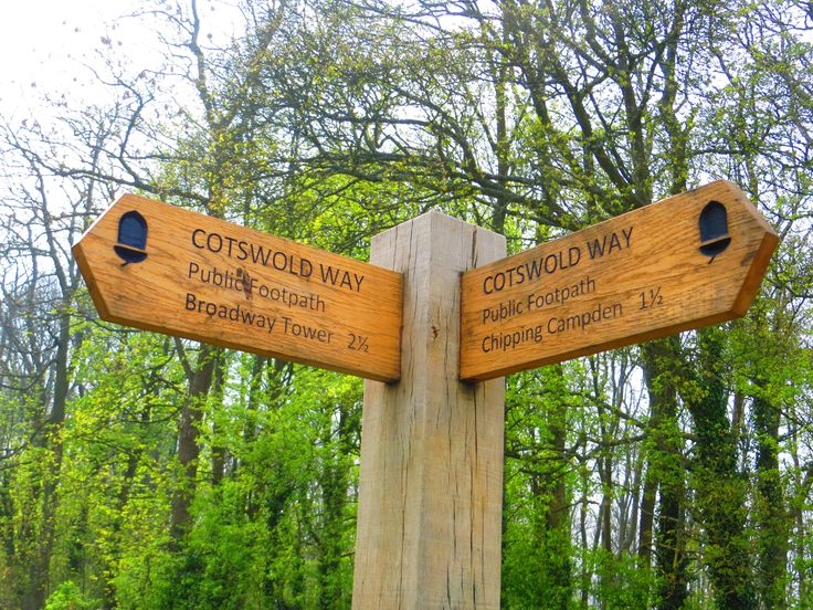 The Cotswolds Way is a national footpath stretching for over 100 miles through the Cotswolds Area of Outstanding Natural Beauty
