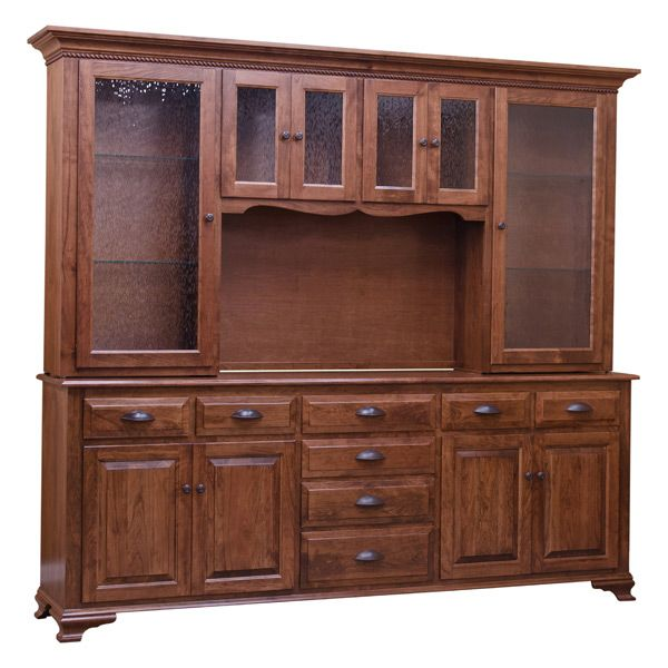 Luxurious and exquisite, this China Cabinet offers plenty of storage space, stylish and a definite eye catching piece on your dining room. Guest and Family members alike will appreciate and marvel at this center piece China cabinet. This is constructed using Character Cherry wood. What is Character Wood? It is cut from the outside layer of the log closest to the bark. As a result, it will show varying knots and different grain patterns.   Here are some of the great features of this unit. It…