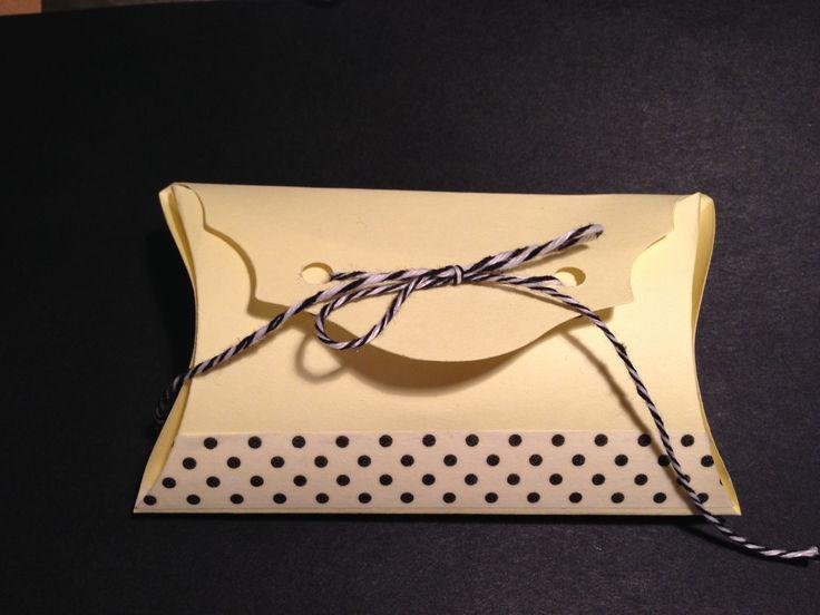 custom gift box / scrapbooking / big shot creations / pois / baker's twine