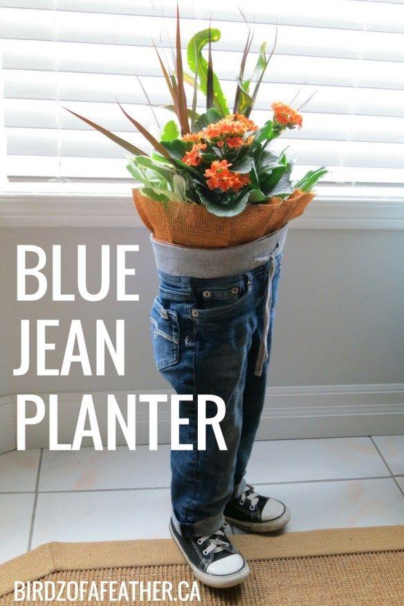 Blue Jean Craft Ideas