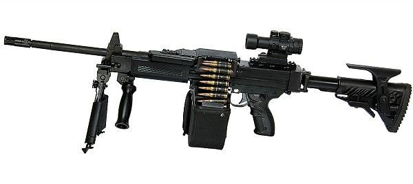 New Israeli Machine Gun — The NG7