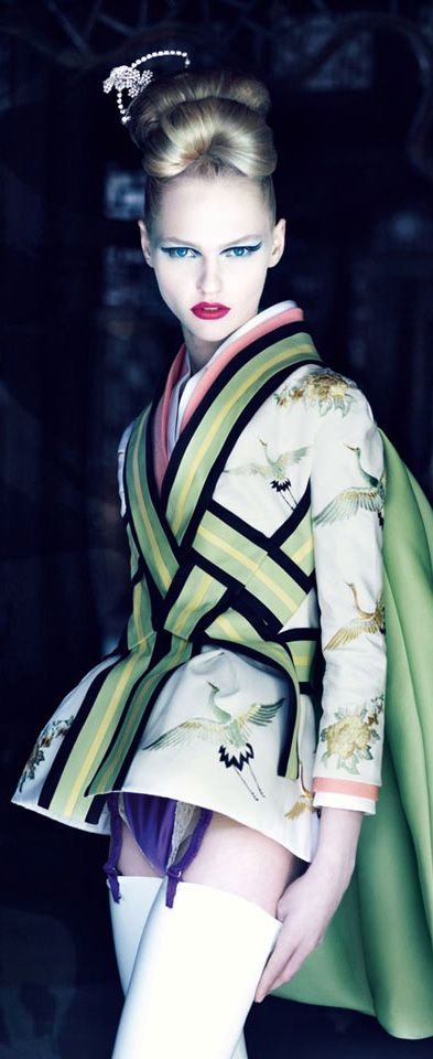 Christian Dior, Jacket from the Ko-Ko-San silhouette, Spring 2007. Photo by Patrick Dermachelier