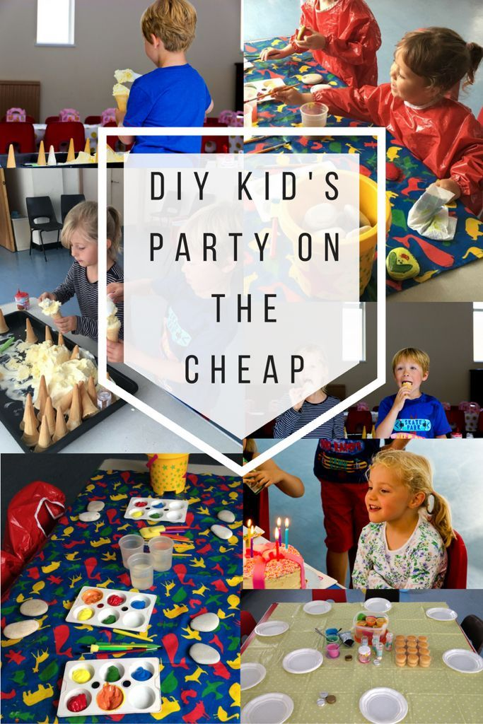 DIY Kids Party Ideas - On The Cheap