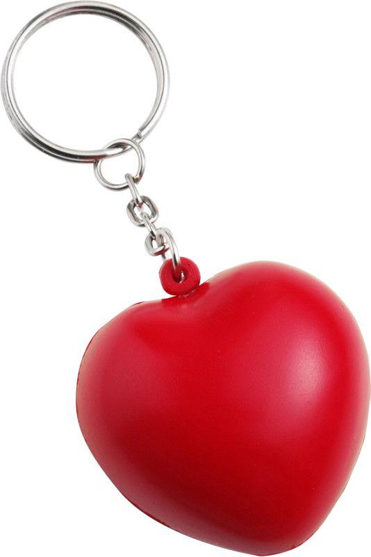 Corazón antiestrés con llavero. www.tusregalosdeempresa.com