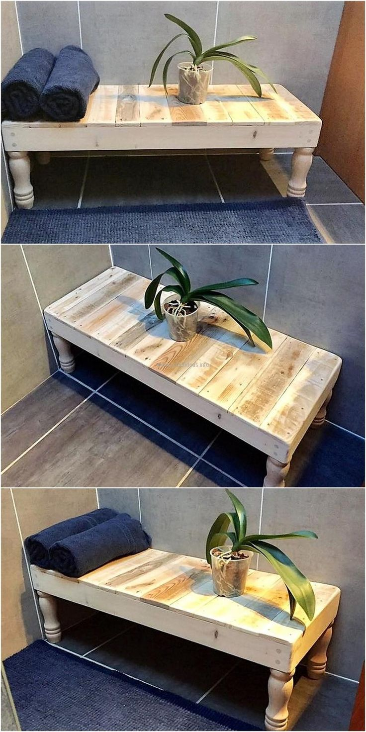 Bench is a need of every home because some people have space in the outdoors or patio where they want to arrange seating, so this idea for creating the upcycled wooden pallet bench is perfect if a person wants a stylish bench.