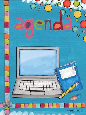 La classe de Madame Valérie: Planificateur à personnaliser ! Cahier de planification pour la rentrée