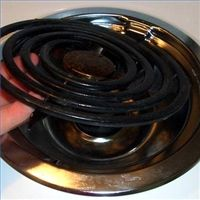 Deep cleaning drip pans