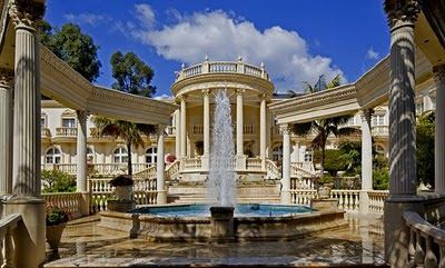 Mansions & More - Luxury Homes of The 1%: Famous Chateau D'Or Mansion in Bel Air Re-Listed a...
