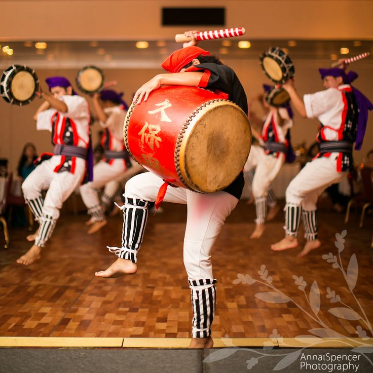 Japanese Taiko Drummers in Okinawa haha shall we get these as a surprise gift Kat for em? ;)