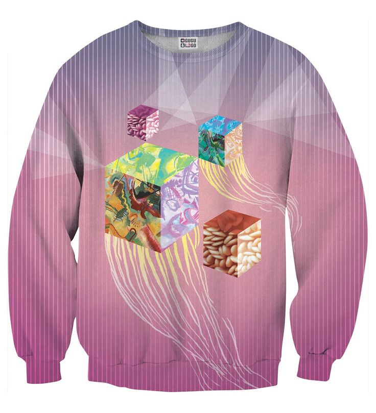 Cubes sweater, Mr. GUGU & Miss GO