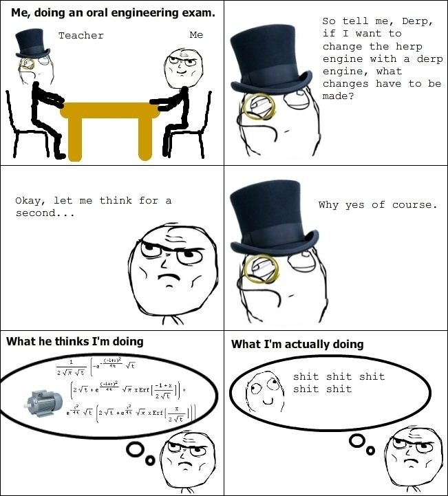 During an oral exam // funny pictures - funny photos - funny images - funny pics - funny quotes - #lol #humor #funnypictures