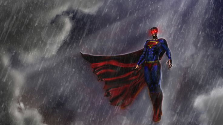 Superman, justice league, artwork, 8k wallpaper