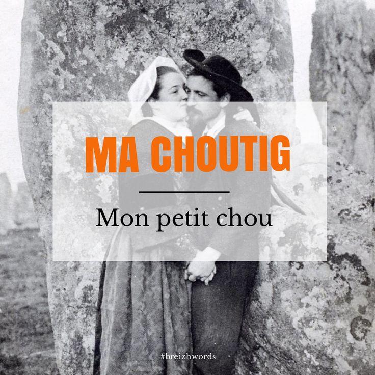 Mon petit chou ! #breizhwords #breizh #bretagne #bzh #breton #brittany #finistère #darling #honey #love #romance #chou #cabbage