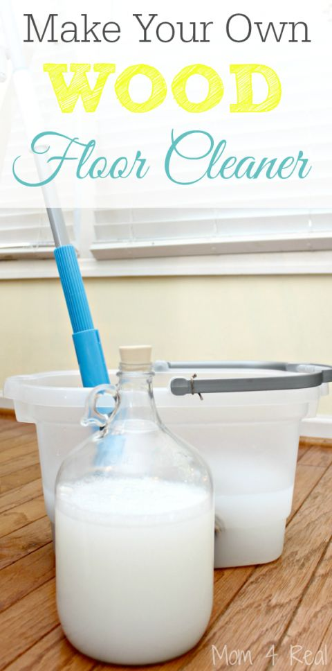 Make Your Own Homemade Wood Floor Cleaner
