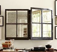 Pottery Barn Mirror Cabinet Media Solution The Great Cover up   7 Ways to Disguise Your TV