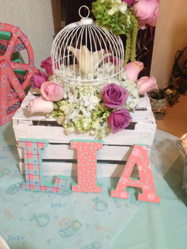 Mesa de postres baby shower lia tote 39 s workshop - Mesa baby shower ...