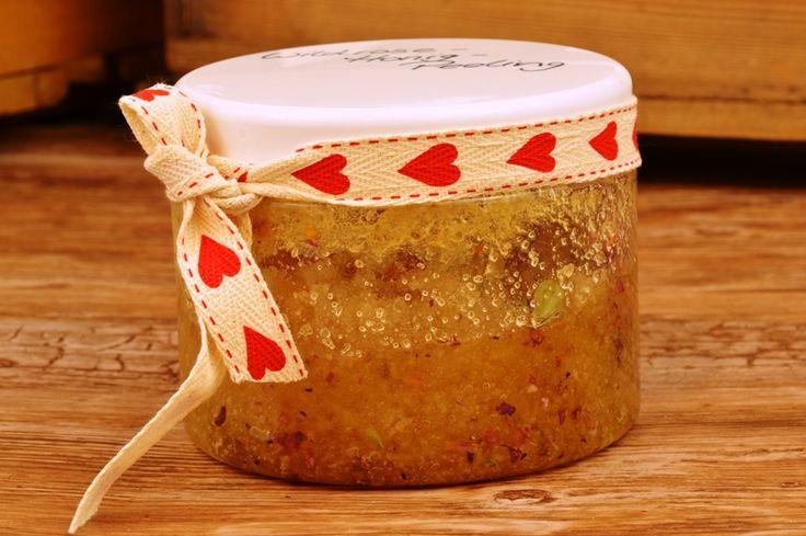 Wildrosen-Honig Peeling selbstgemacht