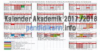 Kalender Pendidikan Tahun Ajaran 2017/2018 http://www.pendidikann.info/2017/05/kalender-pendidikan-tahun-ajaran.html