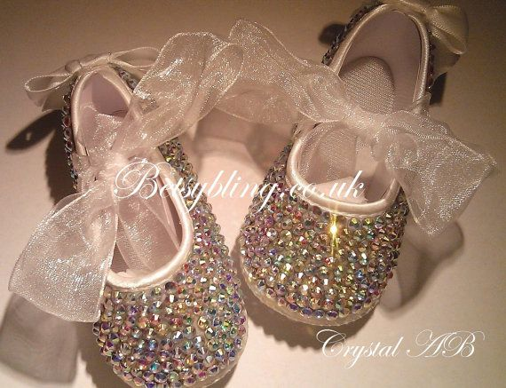 Hey, I found this really awesome Etsy listing at http://www.etsy.com/listing/166591503/crystal-baby-soft-pram-shoes-crystal