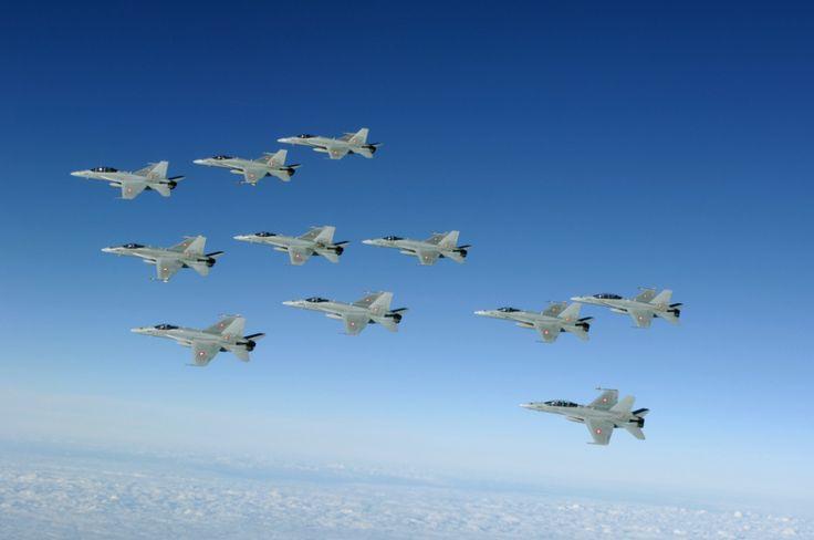 Die Bildergalerie der Fliegerstaffel 11. Alle Bilder unterliegen dem Copyright by Swiss Air Force und/oder dem jeweiligen Photografen