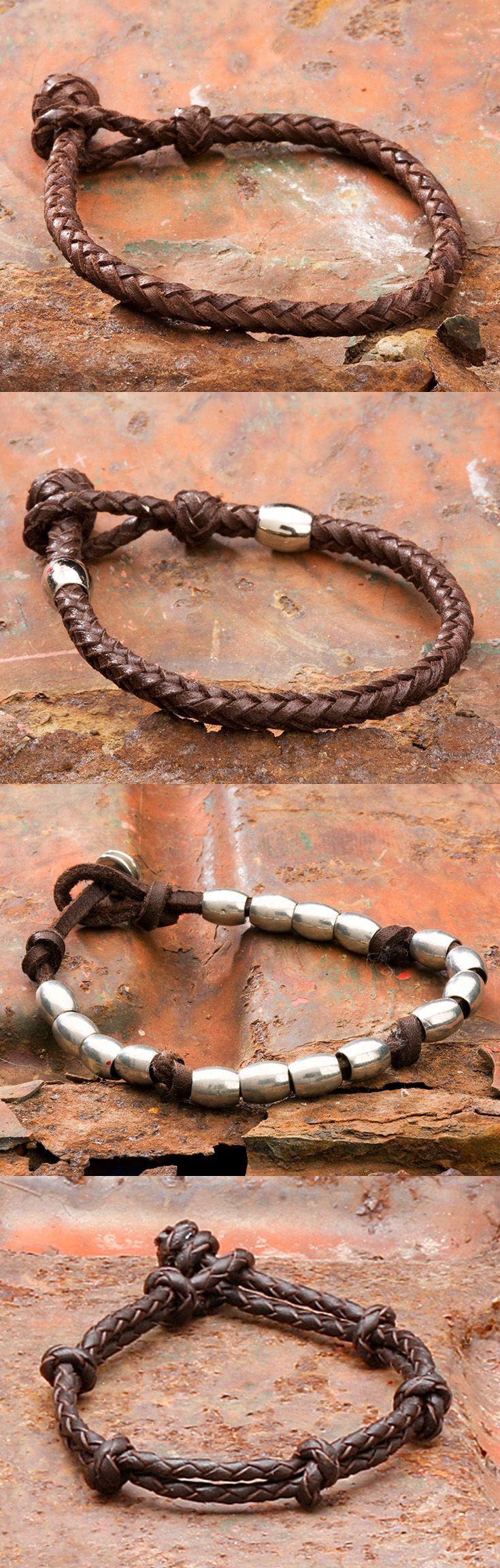 Leather bracelets soft, casual design.  Col. Littleton