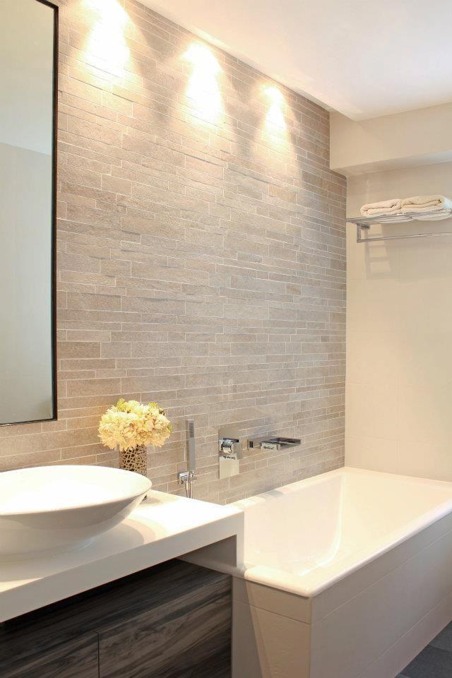 bathroom - tile wall