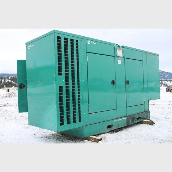 Cummins Power 125 KW Diesel Generator supplier worldwide - Cummins 125 KW diesel Genset for sale - Savona Equipment