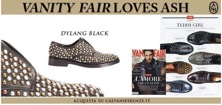 #VanityFair consiglia le derby senza stringhe di #Ash Dylang Black per un perfetto stile da Teddy Girl!