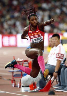 Caterine Ibargüen se corona campeona del mundo en Pekín