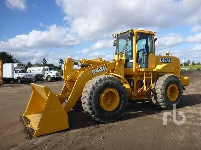 1999 John Deere 644H For Sale (10346153) from Ritchie Bros. Auctioneers [3864] :: Construction Equipment Guide