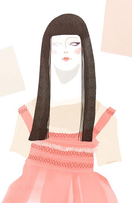 CNNStyle - London Fashion Week Molly Goddard S/S 16 by Velwyn