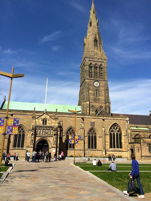 Leicester Cathedral, Richard III's Final Resting Place, Leicester, England, April 2015 | by lisby1