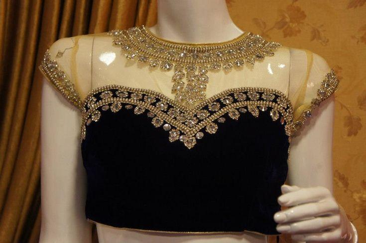 Velvet Blouse  Design Dresses Download  HD Pictures 2015 (6)