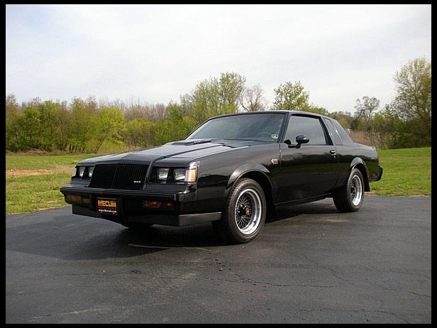 1987 Buick Grand National. Still my favorite car I ever owned.