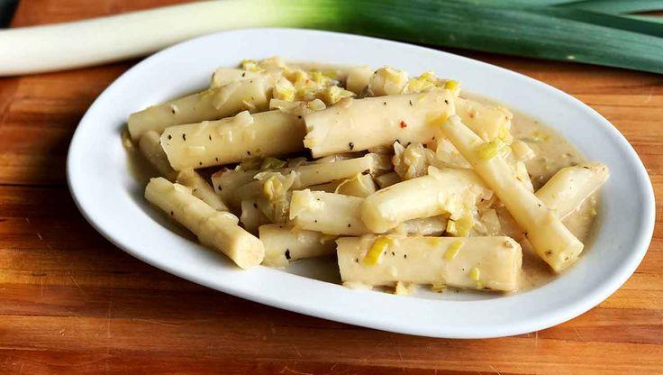Cremiges Schwarzwurzel Gemüse: Mit ➤ Lauch ➤ Zwiebeln ➤ Mandelmilch: Ein Rezept für ✚✚Schwarzwurzel Fans✚✚ Jetzt ausprobieren!