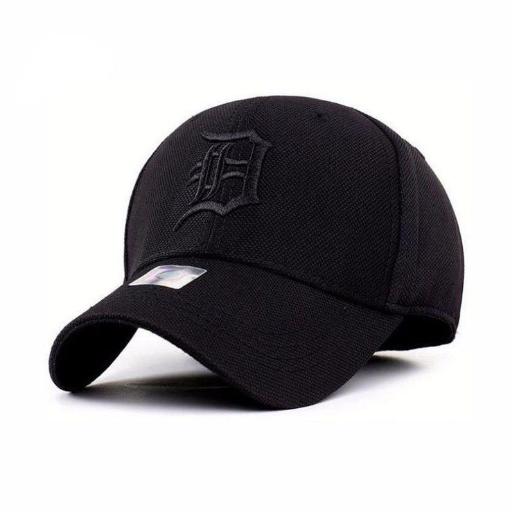 Unisex Fitted Detroit Baseball Cap