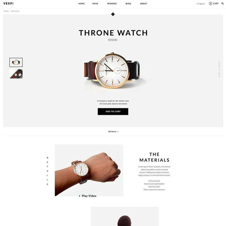 Author: Nguyen Le (@newincreative)  #uihunt #watch #ecommerce #commerce #cool #web #website #header #ui #ux #userinterface #uxdesign #uxinspiration #uiinspiration #uidesign #uidesigner #graphic #design #flatdesign #flat #inspiration #webdesign #dribbble #behance #dribbbleshot
