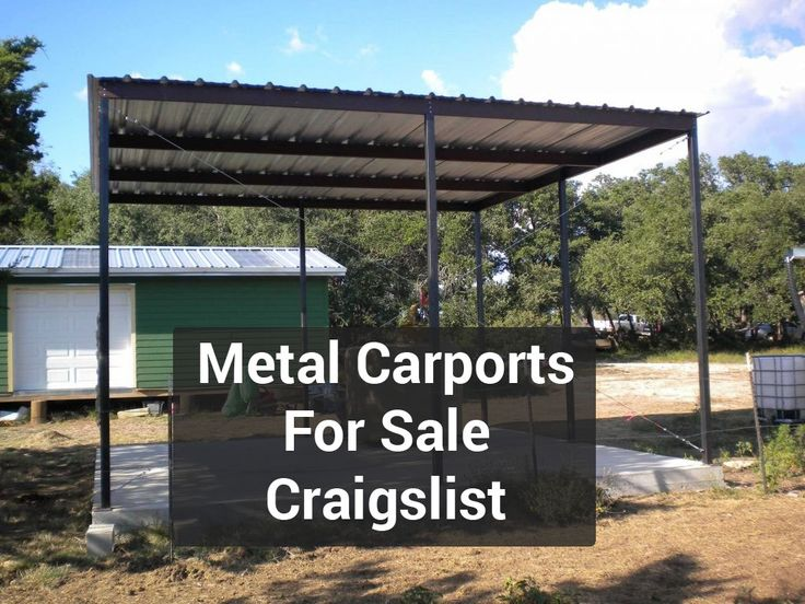 Metal Carports for Sale Craigslist Carports for sale