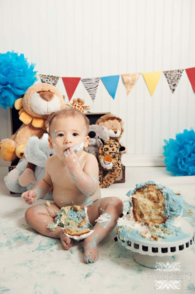 Smash cake session first year photos children photography san diego by bethanngreenberg