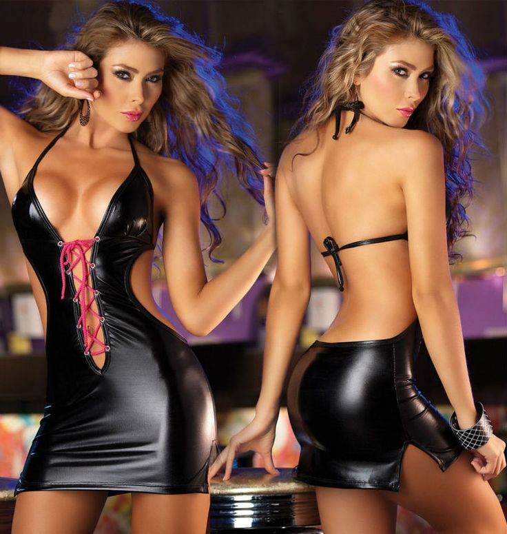 Clothes Erotic Hot Leather Sensual Sexy Tight Womens 17