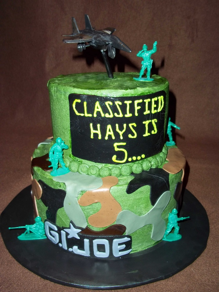 army themed birthday army birthday cakes brock s birthday garrett s ...