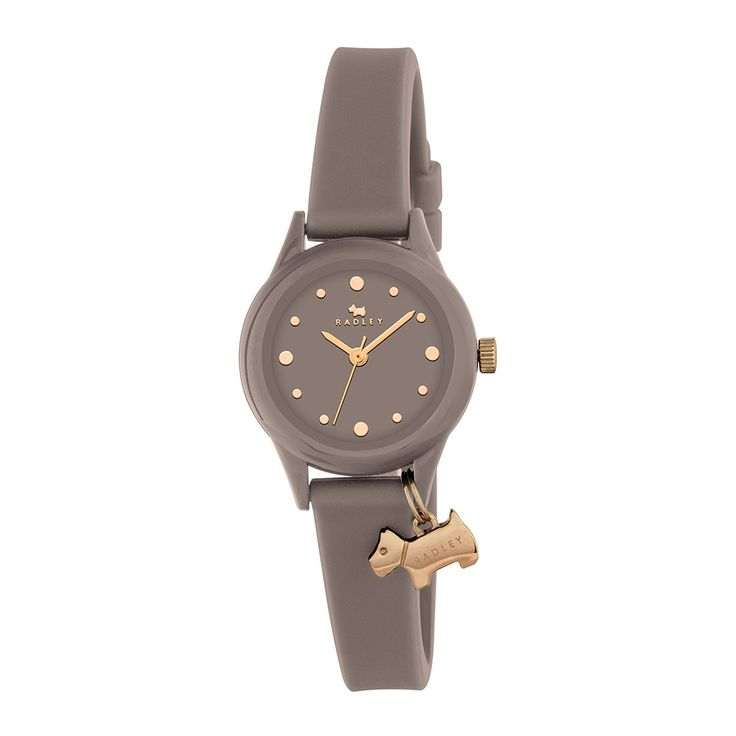 Discover the Radley 'Watch It!' Charm Watch - Mushroom at Amara
